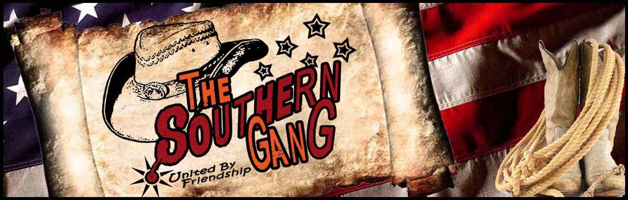 Bandeau ent�te the southern gang avec logo